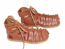 Roman leather brown caligae Sandals Armour Medieval renaissance replica   yk