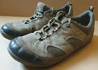 Earth Spirit size 7 leather suede brown lace up walking shoes