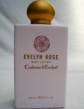 Crabtree & Evelyn Body Lotion Evelyn Rose 250ml fragranced Moisturiser UNUSED