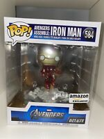 Funko Pop Marvel Iron Man Avengers Assemble Deluxe # 584 Special Edition Disney