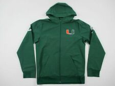 Miami Hurricanes adidas Jacket Men's Green New XLarge