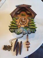 Black forest german cuckoo clockPlease read details