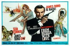 "JAMES BOND - FROM RUSSIA WITH LOVE - MOVIE POSTER 18"" X 12"" SEAN CONNERY"