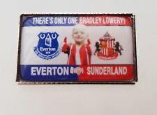 Everton / Sunderland - Bradley Lowery Friendship Pin Badge