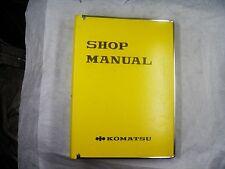 Manual heavy equipment parts accessories for komatsu ebay komatsu pw20 1 pw30 1 wheeled excavator service manual 1001 up sciox Gallery