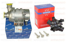 Pierburg  Electric Engine Water Pump ,OEM Thermostat & 3-Bolt kit  BMW