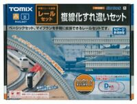 TOMIX N Scale 91028 FINE TRACK Rail Double-Track Passing Set Track Layout NEW