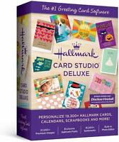 Brand New Hallmark Card Studio Deluxe 2020 (NOT 2019) Factory-Sealed Retail Box