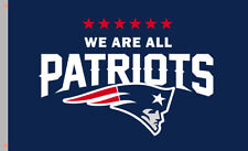 WE ARE ALL New England Patriots flag 90x150cm 3x5ft best football team banner