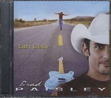 Brad PAISLEY 5TH GEAR CD Brand New