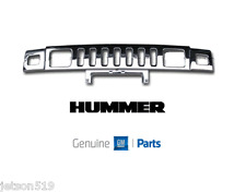 Hummer Brand GM General Motors OEM H2 Front Grille Chrome Brand New OE 2003-2007