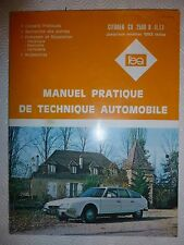 MANUEL TECHNIQUE AUTO AUTOMOBILE - CITROEN CX 2500D ( TT ) MODELES 1983 INCLUS