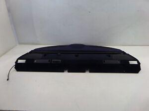 BMW 540i Rear Sedan Parcel Shelf Retractable Sun Shade Trim E39 525i 530i M5