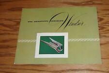 Original 1951 Chrysler Windsor Sales Brochure 51 Newport Town & Country