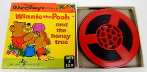 1S Walt Disney's Story Of Winnie The Pooh And The Honey Tree Super 8mm Film