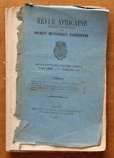 1897 - Revue Africaine - Société Historique Algérienne - N°224