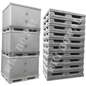 Palettenbox  BigBox Kunststoffboxen Container EXPORTBOX Faltbox Lager GLT