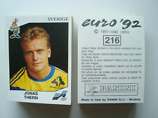1992 Panini EURO 92 EM Uefa Euro Cup Football Cards Stickers CHOOSE LIST
