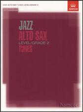 JAZZ ALTO SAX MUSICA Grade 2 ABRSM Spartiti Musicali LIBRO/CD Sassofono