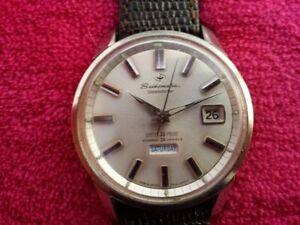 1964 SEIKO 6206-8990 Seikomatic Weekdater 26 Jwl Automatic Watch Accurate JAPAN