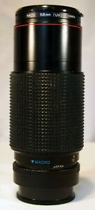 Promaster Spectrum 7 70-210mm Telephoto lens with Haze filter