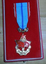 Order of the Red Banner of Labor  in the box, Czech, Czechoslovakia,