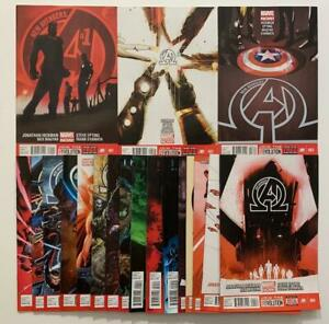 New Avengers #1 to #20 (n0 #12) (Marvel 2013) 19 x FN+ to NM condition issues.