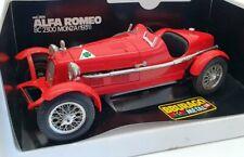 Burago 1/18 Scale Model Car 3014 - 1931 Alfa Romeo 8C 2300 Monza - Red