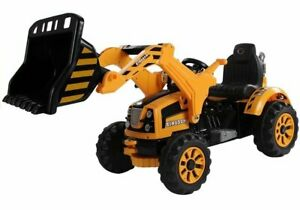 "Kinder Elektro 12V Bagger, Traktor ""Loader"" mit Schaufel etc. ! Neu & Ovp !"