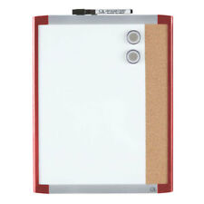 """Quartet 11"""" x 14"""" Dry-Erase Magnetic Whiteboard / Cork Combination Board with Ma"""