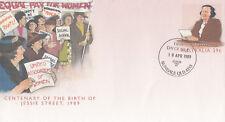 (13972) Australia Postal Stationery FDC Jessie Street 18 April 1989