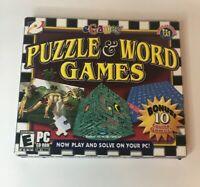 Video Game PC Puzzle & Word Games eGames NEW SEALED Jewel