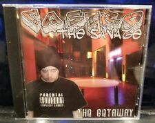Castro the Savage - The Getaway CD Cage horrorcore unground rap necro gore-tex
