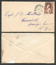 1884 Cover - New York Duplex Cancel - Station 'D'