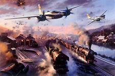 N trudgian A-26 Invader stampa Valle Ruhr invasori firmata da 3 l'equipaggio dei veterani