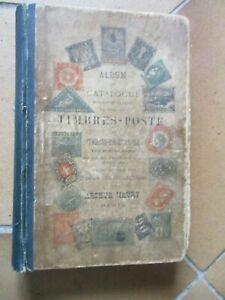 ALBUM ET CATALOGUE MAURY 1904  pour TIMBRES POSTE