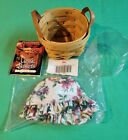 1997 Longaberger Thyme Booking Basket with Liner, Protector