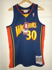 9c2b1f4f481 Stephen Curry 2009-10 GS Warriors Mitchell   Ness HWC Swingman Jersey M  130