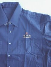 Vintage Molson O'Keefe Beer Work Shirt LONG SLEEVE Collectible Blue XL NEW