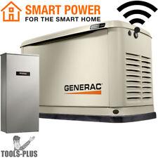 Generac 7174 13kW Standby Generator w/Alum Encl, WiFi, 16 Circ LC NEMA3 New