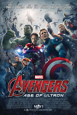 AVENGERS AGE OF ULTRON MOVIE POSTER 2 Sided ORIGINAL FINAL 27x40