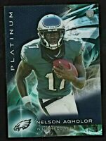 Nelson Agholor 2015 Topps Platinum Black Refractor RC Rookie # 144 /50 Pats