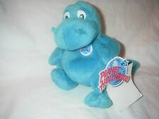 PLANET HOLLYWOOD BEANIE BUBBA DINO PLUSH WITH BUTTON NEW WITH TAG 8 INCH