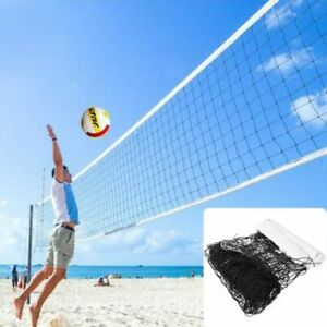 Volleyball Net Polyethylene Universal Style Material Beach