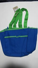 Kids Gardening Tote. Blue Or Green. Canvas. Cute.