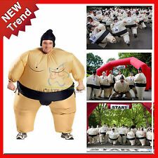 Adult Inflatable Blow Up SUMO Wrestler Suits Fancy Dress Costume Mens Party NEW