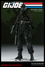 SIDESHOW COLLECTABLES Exclusive GI Joe Snake Eyes 1:6 Scale Figure - NEW IN BOX