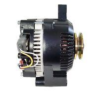 Hi Amp Ford Style Alternator 170 Amps, Black, One 1-Wire Hookup