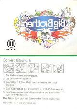 Big Brother - Tattoo von RTL II