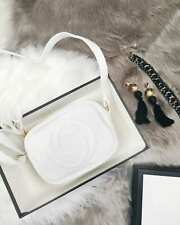 CALI WHITE CAMERA BAG